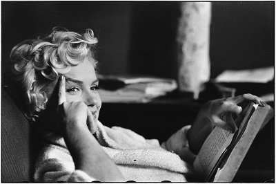 USA. New York. 1956. American actress Marilyn MONROE